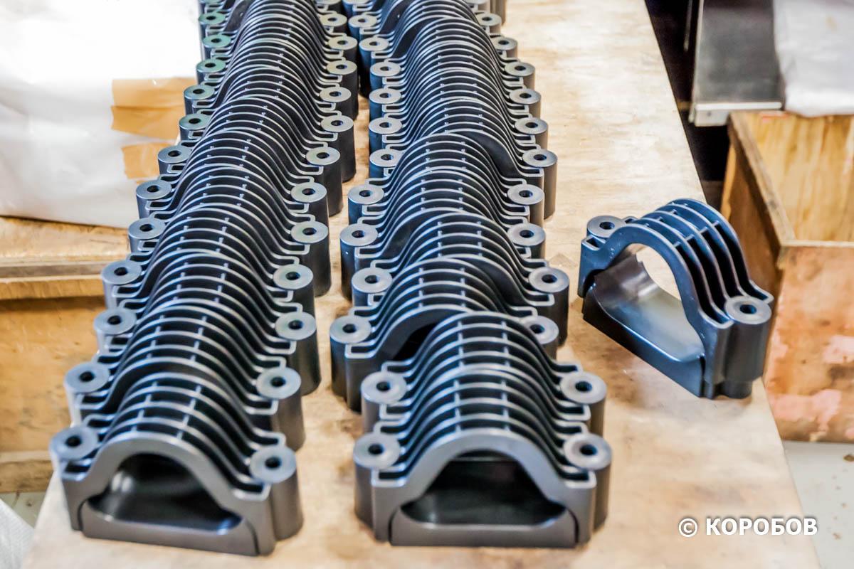 Производство кабельных хомутов