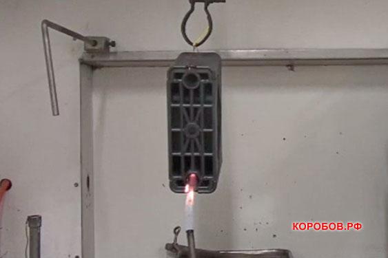 Хомут высоковольтного кабеля