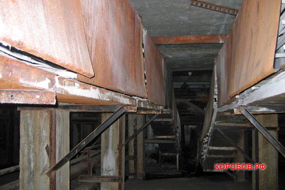 Кабельные полуэтажи